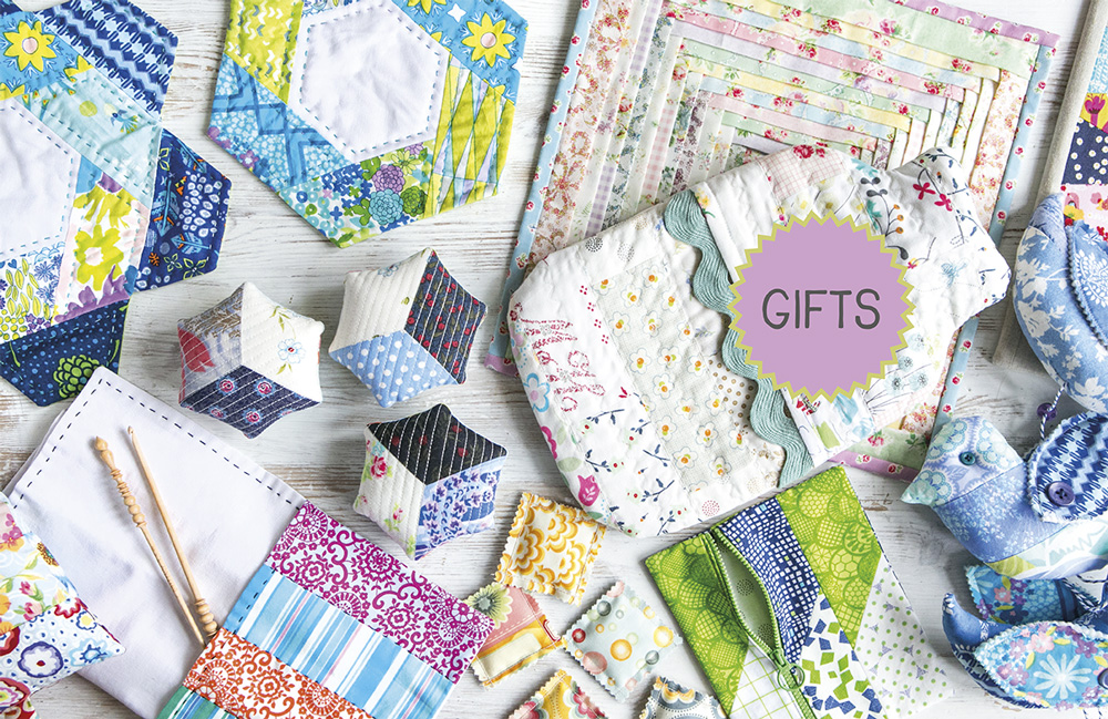 Little Quilts And Gifts From Jelly Roll Scraps Carolyn