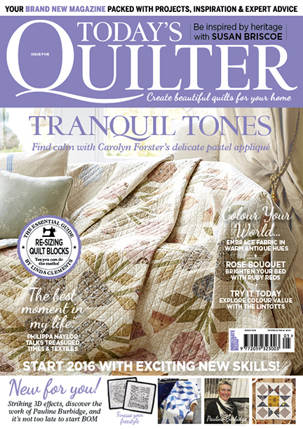 Today's Quilter issue 5