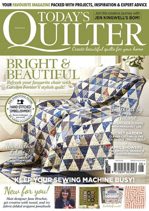 Today's Quilter issue 8