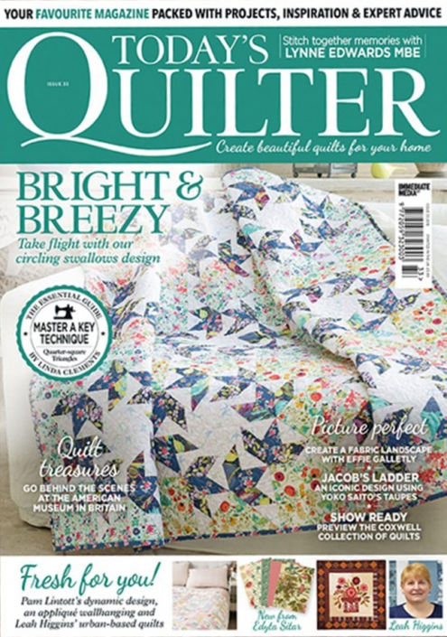 Today's Quilter issue 33