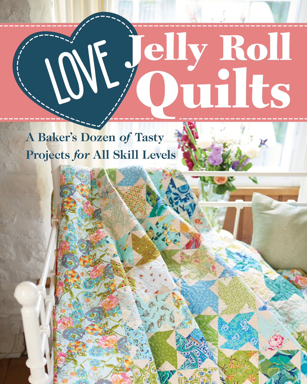 Love Jelly Roll Quilts Cover